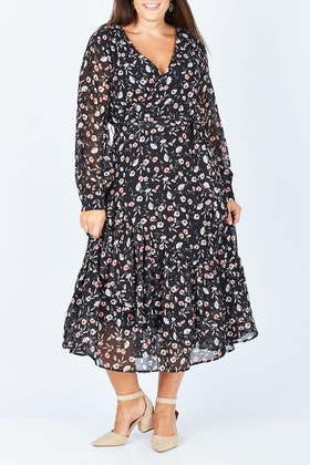 Fate + Becker Nolita Wrap Dress