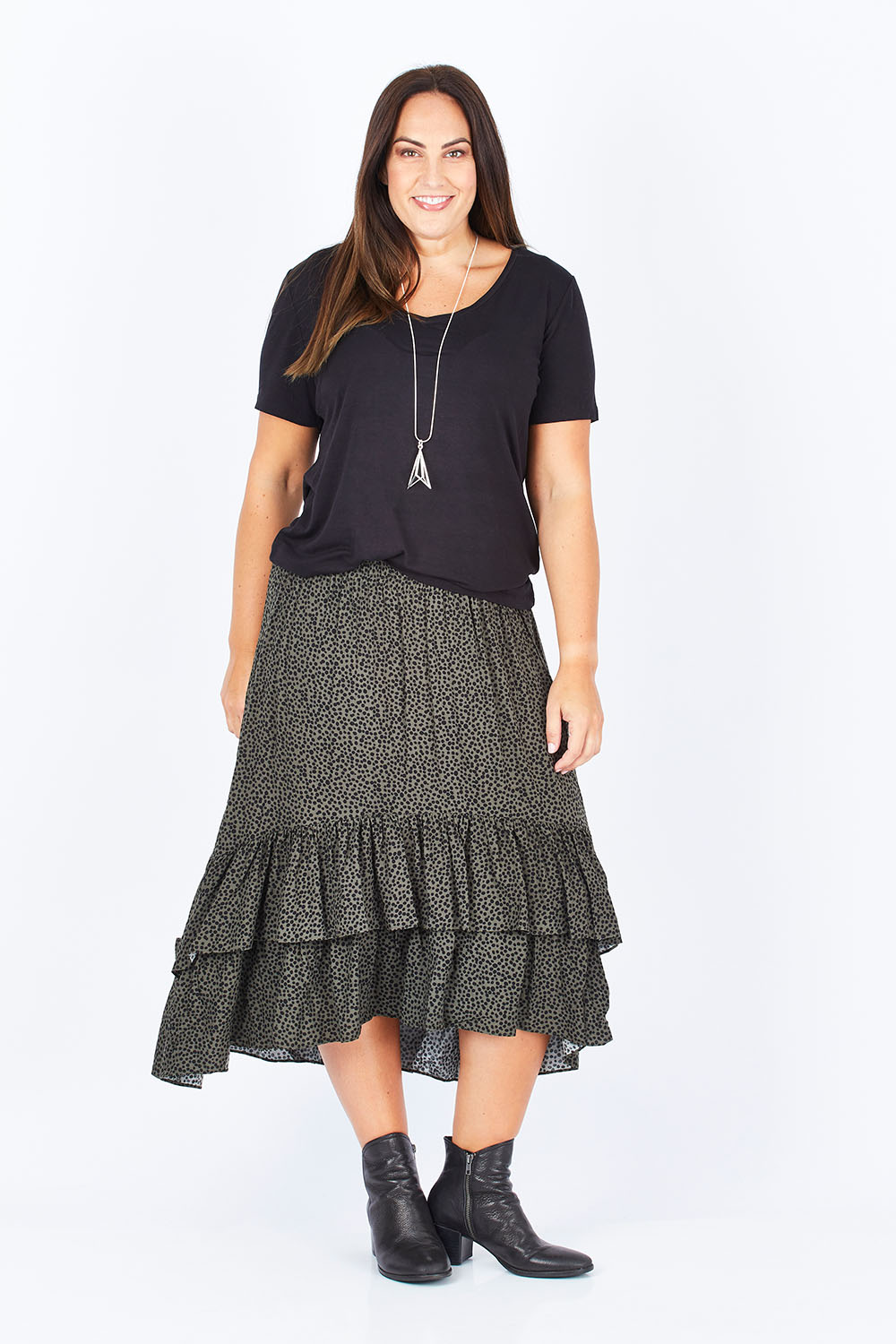Clothing, Shoes & Accessories Women's Clothing 100% True Pretty Ladies Skirt Size 14