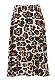 Belle Leopard Print Skirt