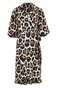 Belle Leopard Print Dress