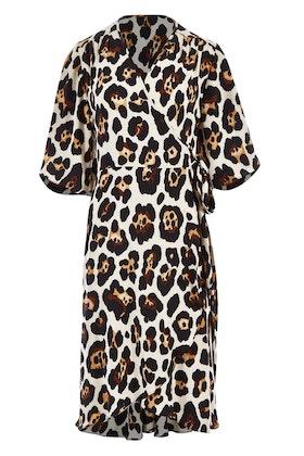 Belle bird Belle Leopard Print Dress