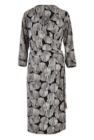 Belle Print Wrap Dress