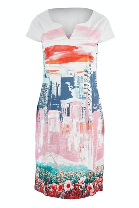 FOIL Fresh Air Time Square Dress