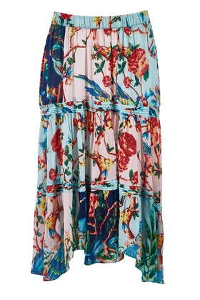 Lula Soul Peacock Skirt