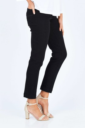 Sacha Drake High Rise Ankle Grazier Jeans