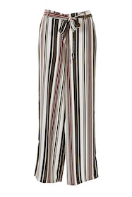 Belle Rust Stripe Pant