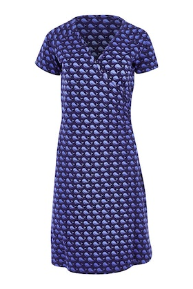 Sugarhill Brighton Delilah Whale Song Wrap Dress