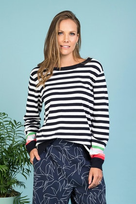 Elm Tinker Stripe Knit
