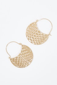 Arabella Hoop Earrings