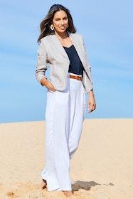 Cotton Linen Blazer