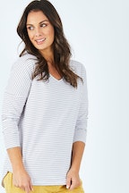 Elm Fundamental Stripe Long Sleeve Tee