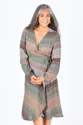 Brave & True Humphrey Wrap Dress