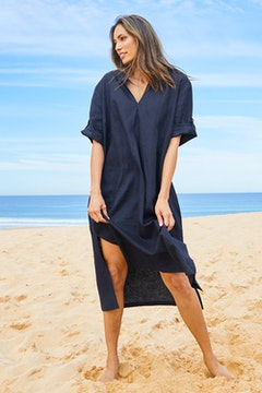 Linen Summer Relaxed Dress
