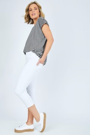 The Cropped Skinny Pull On Jean