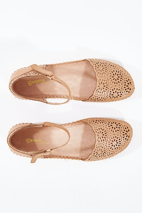 Gamins Rube Leather Flat
