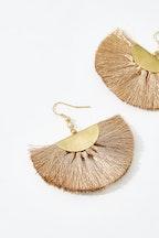 Eb & Ive Serengeti Fan Earrings
