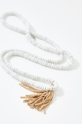 Eb & Ive Sable Tassel Necklace