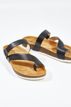 FRANKiE4 Shelly Slide Sandal