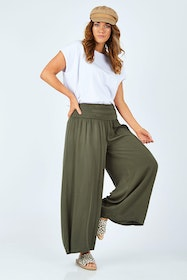 The Wide Leg Relaxed Pant