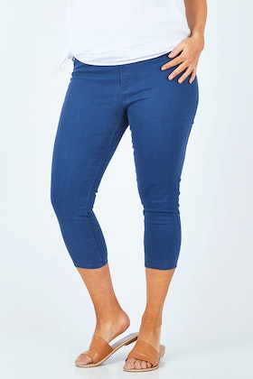 bird keepers The Cropped Skinny Pull On Jean