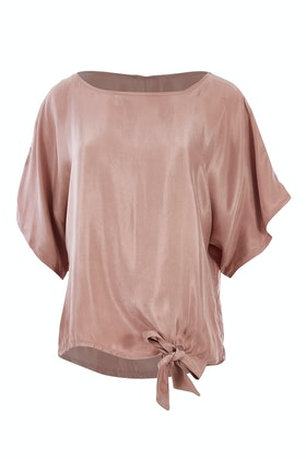 bird keepers The Luxe Tie Front Top