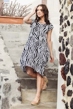 Orientique Gythio Print Dress