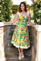 Joe Browns Oranges And Lemons Dress
