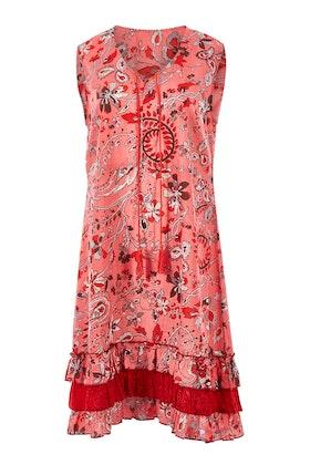 Clarity By Threadz Multi Tiered Hem Dress