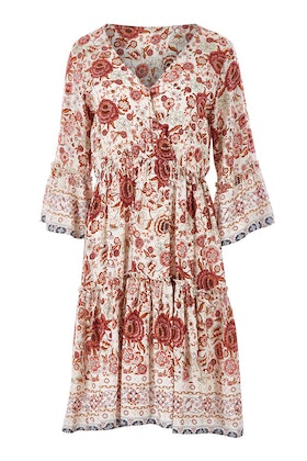 Spicy Sugar Flower Print Dress
