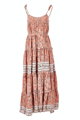Jaase Cognac Maxi Dress