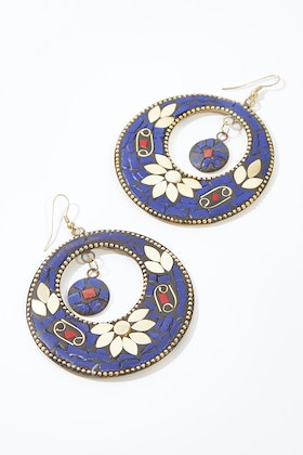 Naudic Tile Earrings