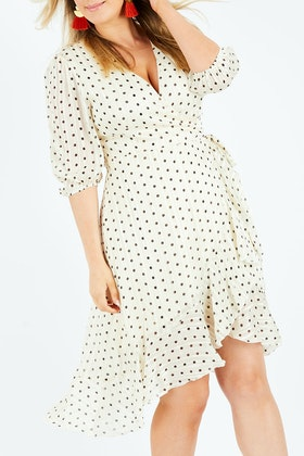Spicy Sugar Polka Dot Dress