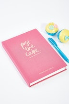 Blushing Confetti Pass The Cake Dessert Journal