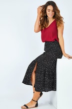 bird keepers The Button Through Midi Skirt