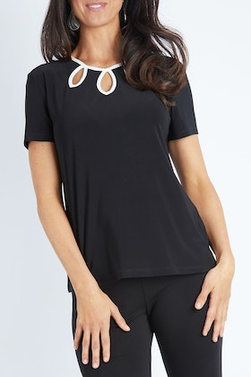 Y Front Detail Tee