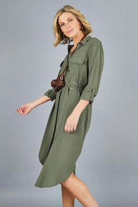 bird keepers The Relaxed Utility Dress