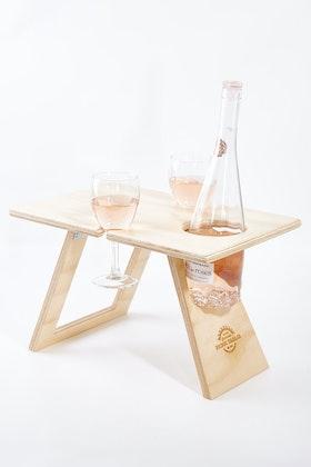 Summer Picnic Tables Petite Natural Folding Picnic Table