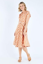 Elise May Checker Dress