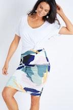 PQ Collection Ruche Skirt