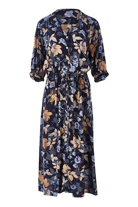 bird keepers The Button Up Midi Dress