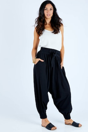 boho bird Relax With Me Slouch Pants