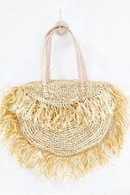 Scandic Gypsy Astrid Natural Raffia Bag