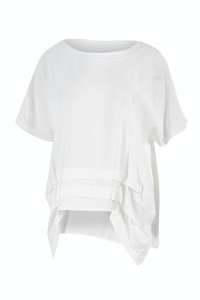Clarity By Threadz Pleat Front Blouse