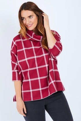 bird keepers The Check Pullover