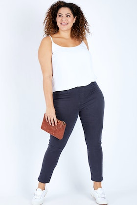 Threadz Pull On Denim Jegging