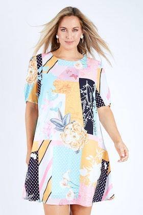 3rd Love Patch Work Dress