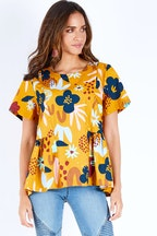 Elm Embrace Posy Top