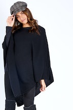 Everyday Cashmere V Neck Poncho