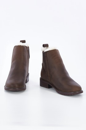 Emu Australia Pioneer Leather Ankle Boot