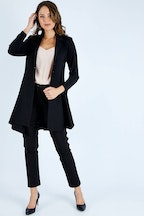 bird by design The Asymmetrical Hem Coat